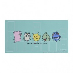 Rubber Play Mat 24 Jikan Pokemon Chu japan plush
