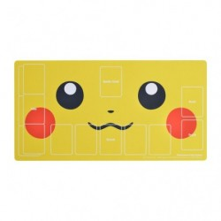 Rubber Play Mat Pikachu Face japan plush