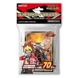 Protèges Cartes Seventh Road Magician YuGiOh Rush Duel japan plush