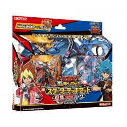 Starter Deck Set Yuga VS Luke YuGiOh Rush Duel japan plush