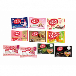 Kit Kat Special Set Sakura japan plush