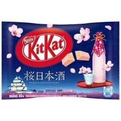 Kit Kat Mini Sakura Sake japan plush