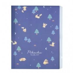 Pochettes avec zip Pikachu number025 Night Forest japan plush