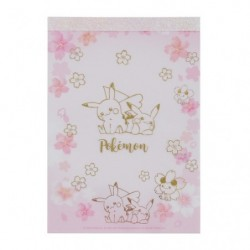 Memo Pad Pikachu CB japan plush