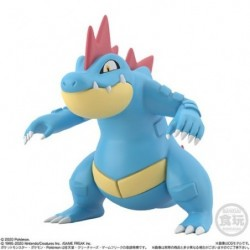 Figurine Aligatueur Pokemon Scale World japan plush