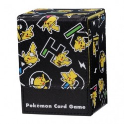 Deck Box PIKAPIKACHU BK japan plush