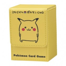 Deck Box Pikachu 24 Jikan japan plush