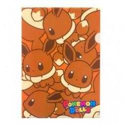 A4 Clear File Pokemon Doll Eevee japan plush
