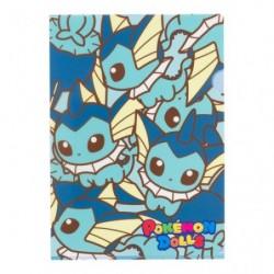 A4 Clear File Pokemon Doll Vaporeon japan plush