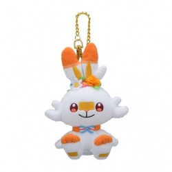 Plush Keychain Scorbunny Pokémon Easter japan plush