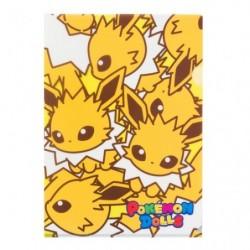 A4 Clear File Pokemon Doll Jolteon japan plush