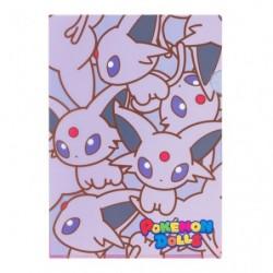 A4 Clear File Pokemon Doll Espeon japan plush