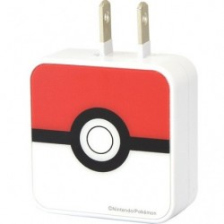 Adaptateur Pokeball USB2 Port AC japan plush