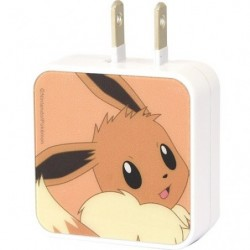 Adapter Eevee USB2 Port AC  japan plush