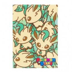 A4 Clear File Pokemon Doll Leafeon japan plush