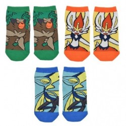 Short Socks Starter 3rd Evolution Pokémon GalarTabi japan plush