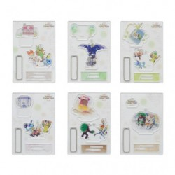 Acrylic stand charm collection Pokémon GalarTabi BOX japan plush