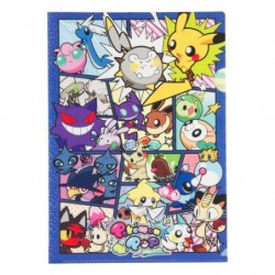 A4 Clear File POKÉMON POP  Pikachu japan plush