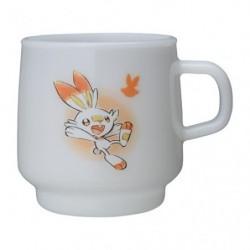 Mug Cup Scorbunny Pokémon GalarTabi japan plush