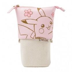 Pochette Pikachu White CB DELDE japan plush