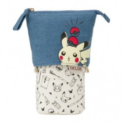 Pochette Pikachu Drawing DELDE japan plush