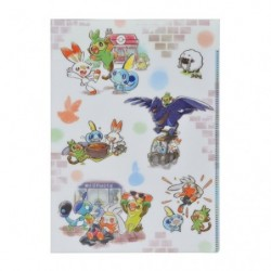 Clear File Pokémon GalarTabi japan plush