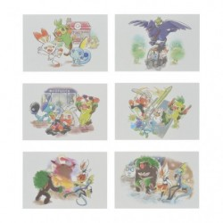 Postcards Pokémon GalarTabi japan plush