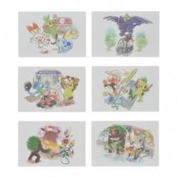 Postcards Pokémon GalarTabi japan plush