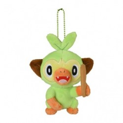 Plush Keychain Grookey Pokémon GalarTabi japan plush