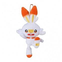 Plush Keychain Scorbunny Pokémon GalarTabi japan plush