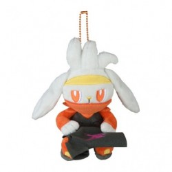 Plush Keychain Raboot Pokémon GalarTabi japan plush