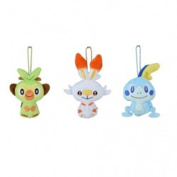 Peluche Porte Cle Starter Pokémon GalarTabi japan plush