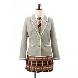Cosplay High School Girl Winter Uniform Third Grade BanG Dream! Girls Band Party  japan plush