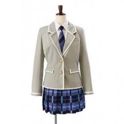 Cosplay High School Girl Winter Uniform Second Grade BanG Dream! Girls Band Party  japan plush