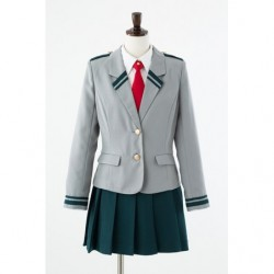 Cosplay Yuei High School Girl Winter Uniform My Hero Academia