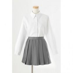 Cosplay Plain Grey Skirt japan plush