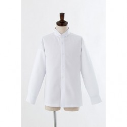 Cosplay Chemise Blanche Col Ailé