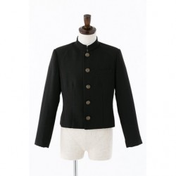 Cosplay Boy Plain School Uniform Black Jacket japan plush