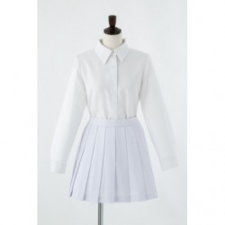 Cosplay Plain White Skirt japan plush