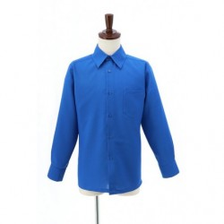 Cosplay Blue Plain Shirt