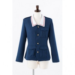 Cosplay Ankou Team Jacket Girls und Panzer japan plush