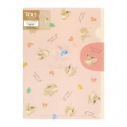 Pochette Transparente Mofu Mofu Évoli japan plush