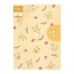 Pochette Transparente Pikachu number025 japan plush