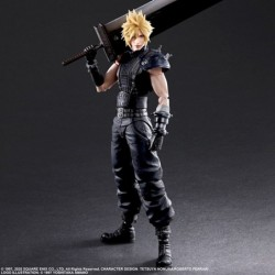 Figurine Cloud Strife Final Fantasy 7 Remake PLAY ARTS Ver.2 japan plush