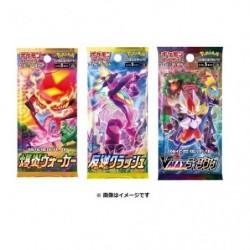 Pokemon Card Booster 10 Pack Set japan plush