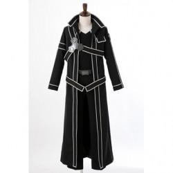Cosplay Kirito Black Swordsman Costume Sword Art Online  japan plush
