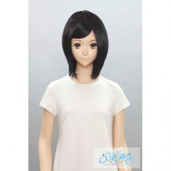Cosplay Wig Sara Short Bob Black 01 japan plush