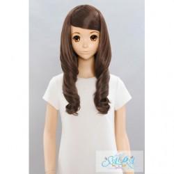 Cosplay Wig Sara Marshmallow Curl Brown 02 japan plush