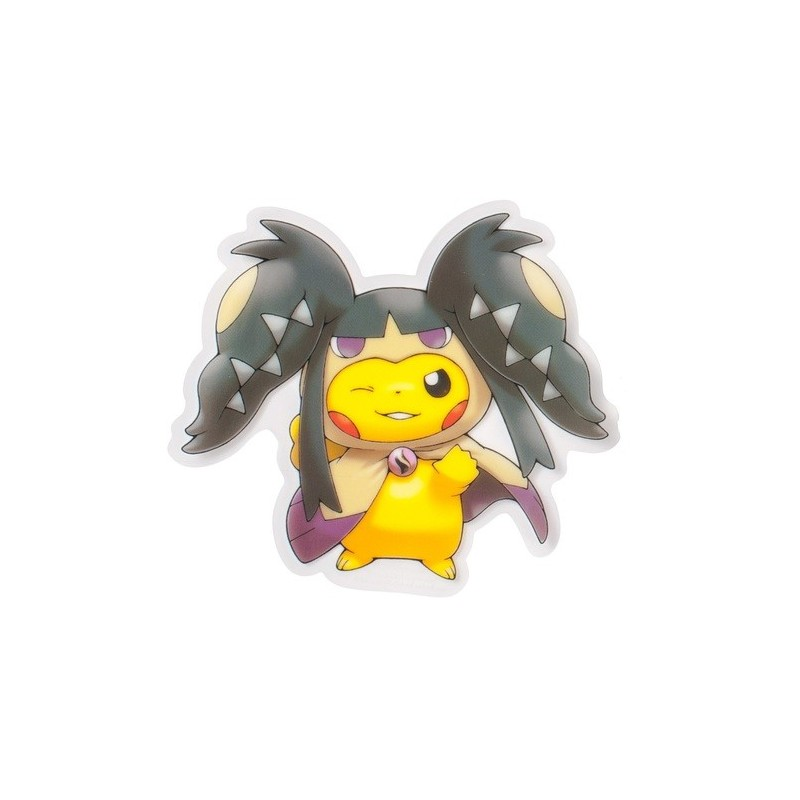 Sticker Pikachu Poncho Mega Mysdibule Meccha Japan