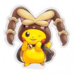 Sticker Mega Lopunny Poncho Pikachu japan plush
